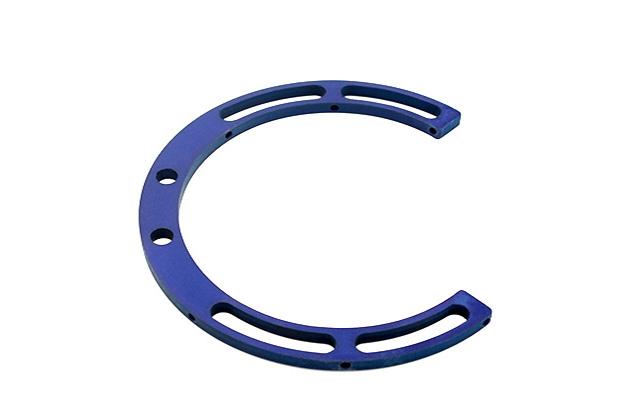 Anello in alluminio 270° Ø 115 x 6 mm