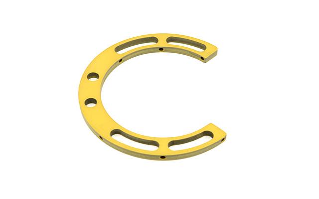 Anello in alluminio 270° Ø 85 x 6 mm
