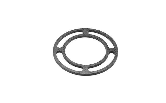 Anello in carbonio 360° Ø 54 x 3 mm