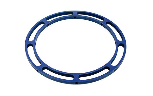 Anello in alluminio 360° Ø 115 x 6 mm