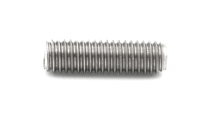 Steel screw headless, 16 mm