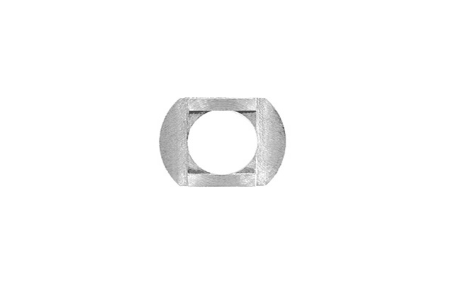Washer sel-centering rectangular 8.2 mm hole