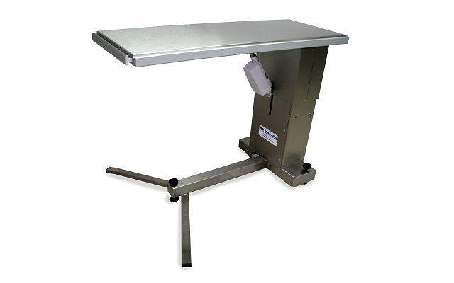 Stainless steel top for surgical table
