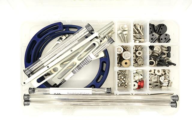 Kit fissatore sterno ibrido maxi alluminio