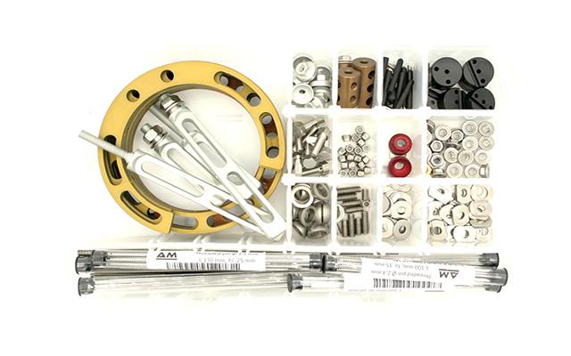 Kit fissatore esterno ibrido midi alluminio