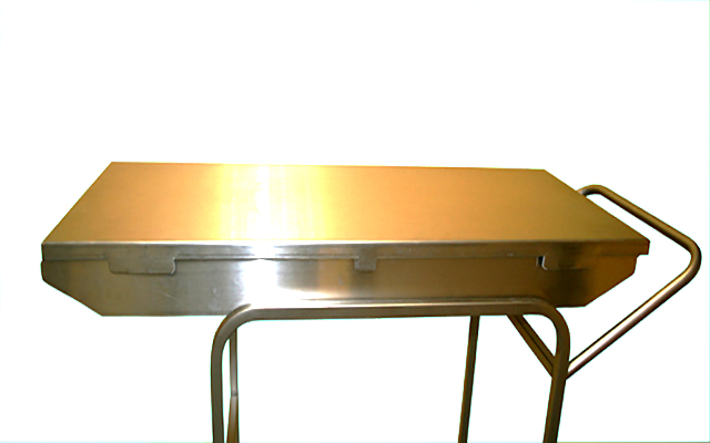 Top for stretcher trolley