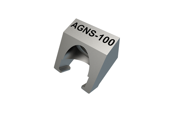 Angled grip nut, small