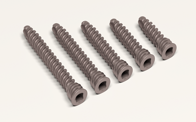 Ø 2.0 mm locking screw, titanium, square head