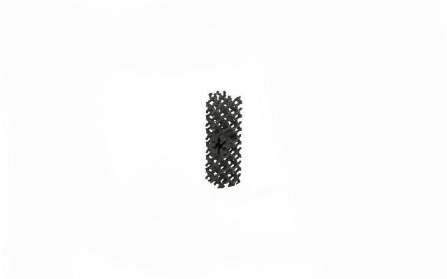 Cilindro poroso porous cylinder