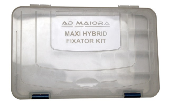 Complete autoclavable container for maxi hybrid kit